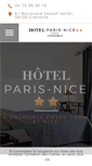 Mobile Preview of hotelparisnice.fr