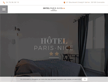 Tablet Preview of hotelparisnice.fr